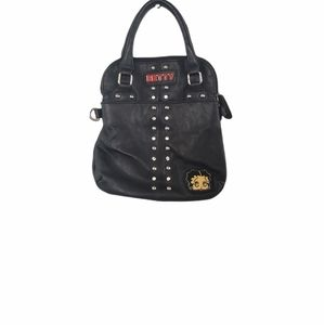 Betty Boop Black Purse With Handles